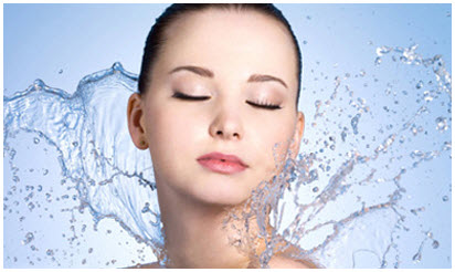 hydrating facial picture